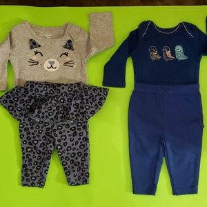 Other - 👶*2 For $20.00*  2 Baby Girl Outfits